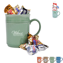 Cup of Thanks Mixed Chocolates 14oz. Mug Gift Set, Custom