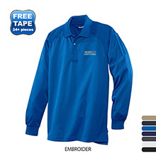 CornerStone® - Select Long Sleeve Snag-Proof Tactical Men's Polo