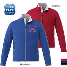 Cima Men's Textured Knit Jacket