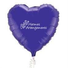 "Microfoil Heart Balloon, 18"""