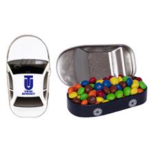 Car Tin w/ Chocolate Littles