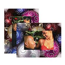 Christmas Themed Paper Easel Frames