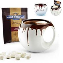 Hot Chocolate Orb Mug Gift Set