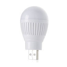 LED Light Bulb,USB Powered, 0.75W