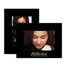 Black Paper Easel Frames