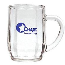 Optic Haworth Glass Coffee Mug, 10oz.