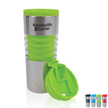Rings of Color Tumbler, 16oz. - Free Set Up Charges!
