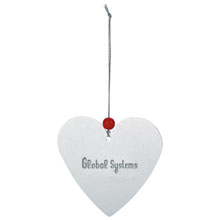 Heart Holiday Ornament