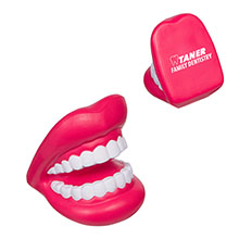 Big Mouth with Teeth Stress Reliever