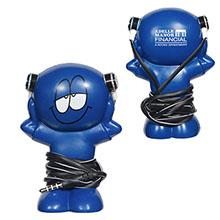 Blue Little Buddy Earbud Gift Set