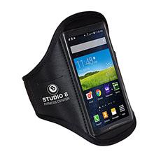 Black Neoprene Armband Phone Holder