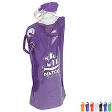 Flip Top Folding Water Bottle, 27oz.