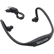 Active Wear Black Bluetooth Headphones