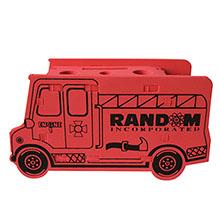 Fire Truck Foam Puzzle Organizer
