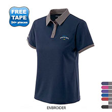 Holloway® Commend Dry-Excel™ Pointelle Ladies' Performance Polo