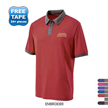 Holloway® Commend Dry-Excel™ Pointelle Men's Performance Polo