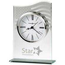 Howard Miller® Liberty Beveled Glass Clock