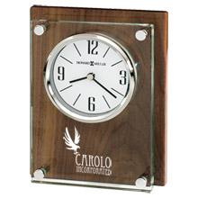 Howard Miller® Amherst High Gloss Walnut Clock