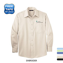 Port Authority® Cotton Twill Non-Iron Men's Shirt