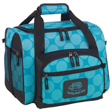 Aqua Dots Convertible 12-Can Duffel Cooler