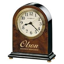 Howard Miller® Bedford Walnut Clock