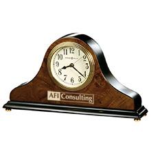 Howard Miller® Baxter Walnut Clock
