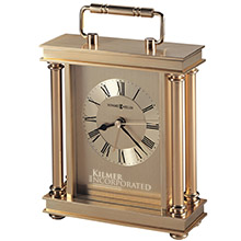 Howard Miller® Audra Brass Clock