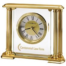 Howard Miller® Athens Brass Clock