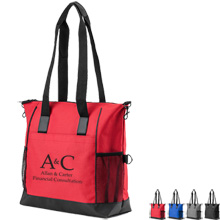 Anaheim Denier & LeatherTote Bag