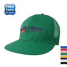 Brushed Cotton Twill Constructed Trucker Cap