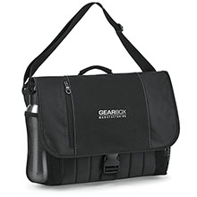 Baylor 600D Traditional Computer Messenger Bag