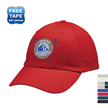 All-Around Brushed Cotton Twill Unstructured Cap