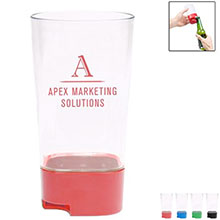 Beer Bud Plastic Pint Cup with Bottle Openers, 16oz.