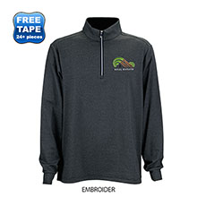 Greg Norman® Heathered Stripe 1/4-Zip Men's Pullover