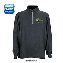 Greg Norman® Heathered Stripe 1/4-Zip Men's Pullover