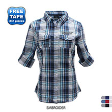 Burnside® Plaid Ladies' Shirt