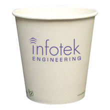 Biodegradable Hot Beverage Paper Cup, 10oz.