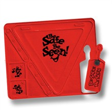 Be Safe Be Seen Reflector Safety Set, Stock