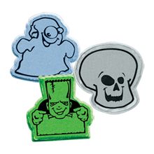 Halloween Reflective Stickers, Stock
