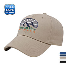Brushed Canvas Structured Performance Cap