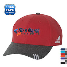 adidas® Collegiate Heather Structured Performance Cap