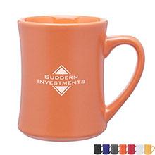 Barton Ceramic Mug, 15oz. - Free Set Up Charges!