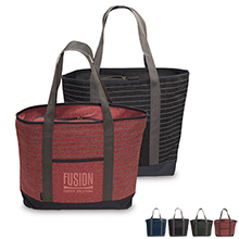 Somerset Serene 600D Zippered Tote - Free Set Up Charges!