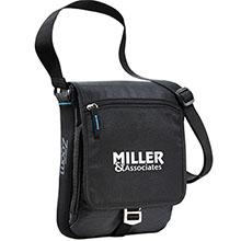 Zoom® Media 600D Messenger Tablet Bag