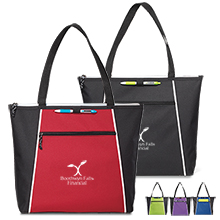Ames Convention Tote, 600D Polyester - Free Set Up Charges!