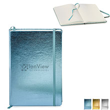 "Metallic Neoskin® Hard Cover Journal, 5-1/2"" x 8-1/4"""