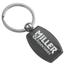 Alexander Gunmetal Metal Keyholder