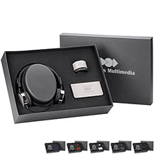 Fabrizio Headphones, Power Bank, and Speaker Gift Set