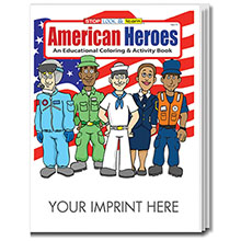 American Heroes Coloring & Activity Book