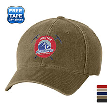 Flexfit® Garment Washed Unstructured Fitted Cap